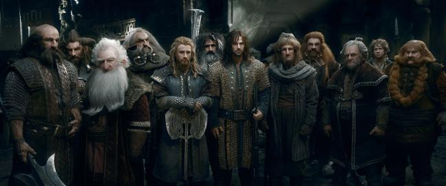 """Dans Le Hobbit - La bataille des cinq armées, on retrouve des nains dans toute leur splendeur : """"L'or, il est à nous, et puis c'est tout""""."""