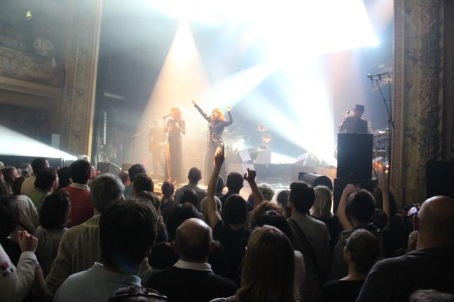 Les Brigitte se sont produit à Montargis (Loiret), ville de 15.000 habitants, avant de lancer leur tournée estivale.